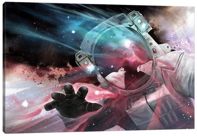 Stardust Canvas Art Print