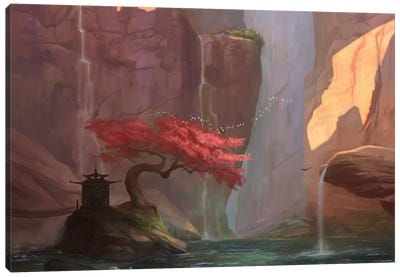 The Canyon Canvas Art Print