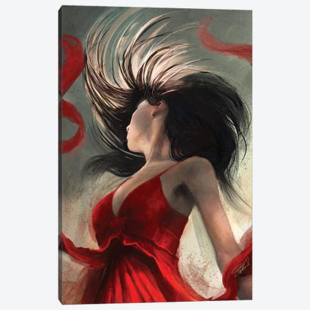 The Flip Canvas Print #GOA28} by Steve Goad Canvas Wall Art