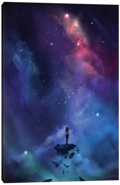 The Loss Canvas Art Print