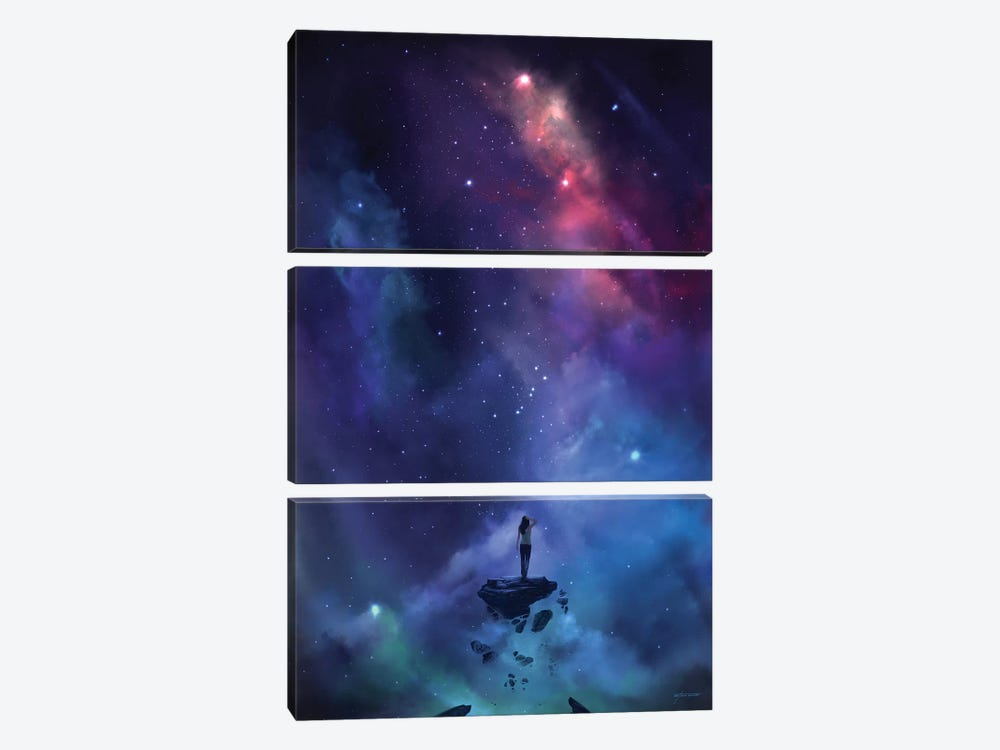 The Loss by Steve Goad 3-piece Canvas Art