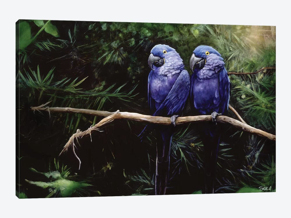 Twins by Steve Goad 1-piece Art Print