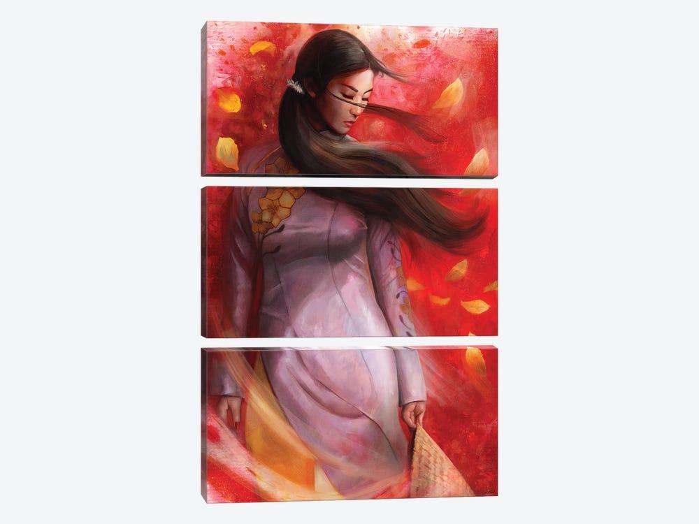 Vietnam by Steve Goad 3-piece Canvas Artwork
