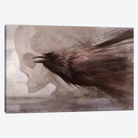 Whispers To The Souls Canvas Print #GOA36} by Steve Goad Canvas Artwork