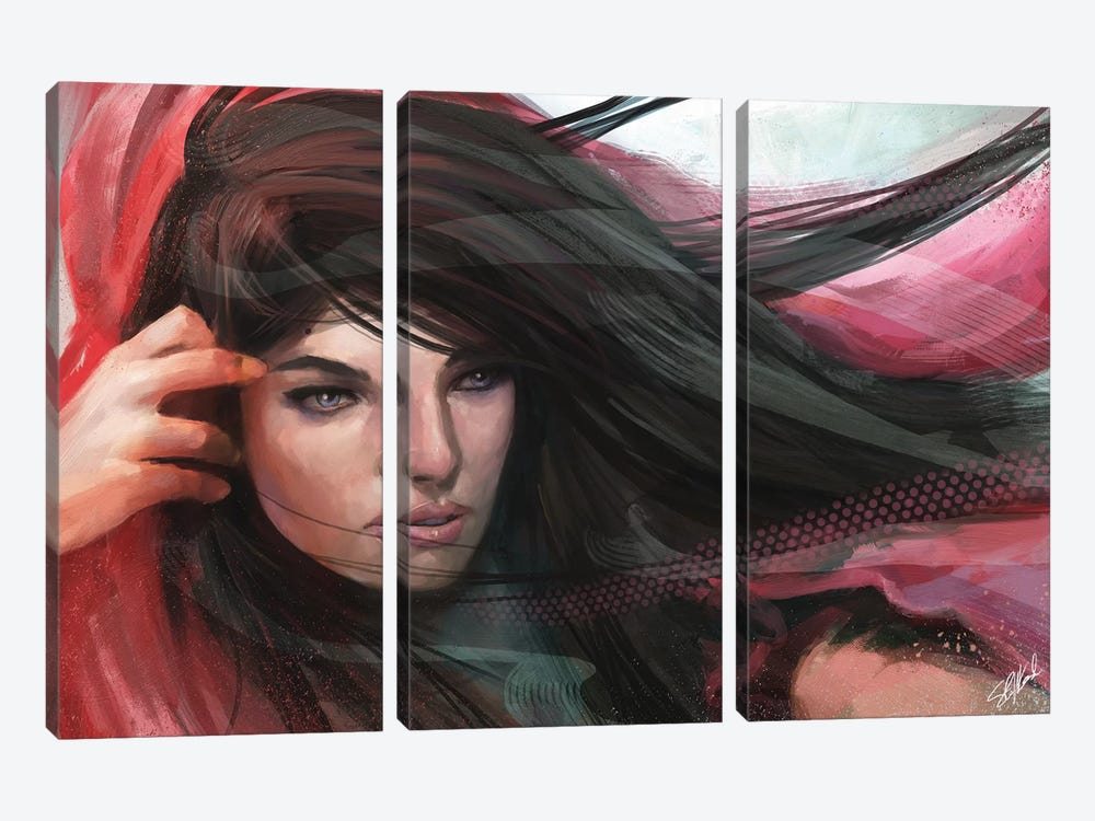Wind by Steve Goad 3-piece Art Print