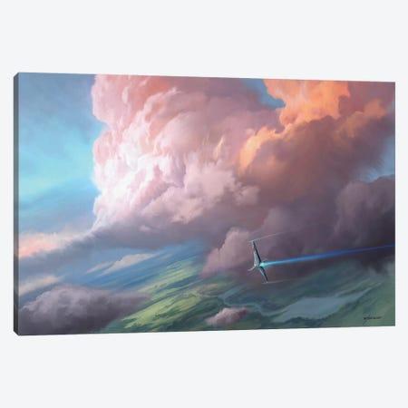Flight Canvas Print #GOA38} by Steve Goad Canvas Art Print