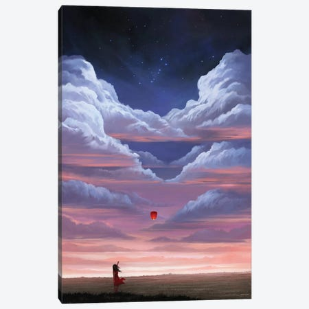 Remember Canvas Print #GOA45} by Steve Goad Art Print