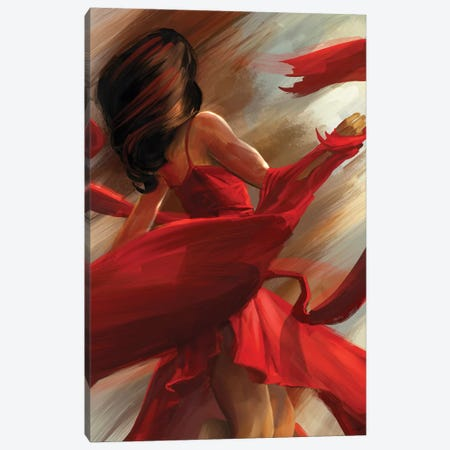 Beauty In Motion Canvas Print #GOA4} by Steve Goad Canvas Print
