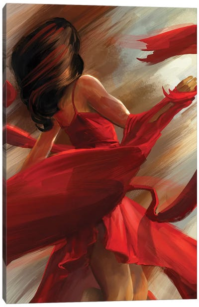 Beauty In Motion Canvas Art Print