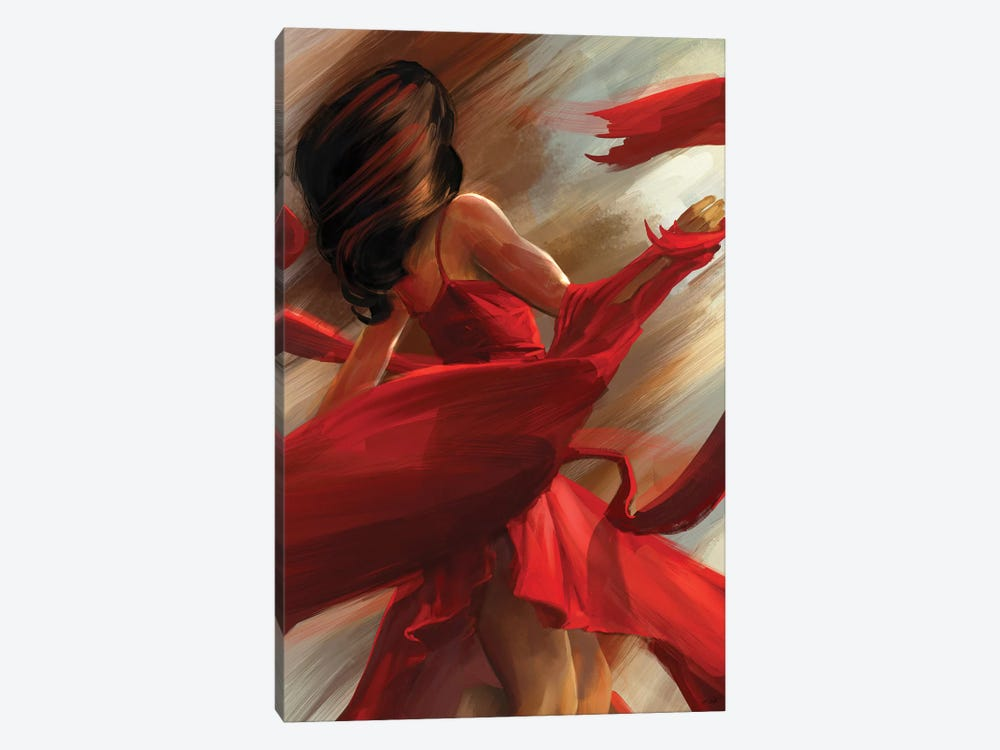 Beauty In Motion 1-piece Canvas Artwork