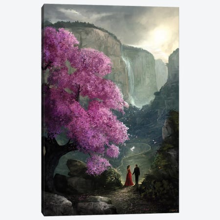 The Path Canvas Print #GOA50} by Steve Goad Canvas Art Print