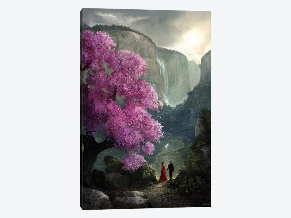 The Path by Steve Goad 1-piece Canvas Art