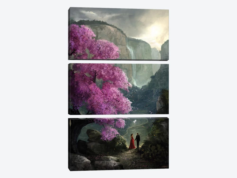 The Path by Steve Goad 3-piece Canvas Art