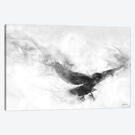 Raven's Flight Canvas Print #GOA58} by Steve Goad Canvas Print