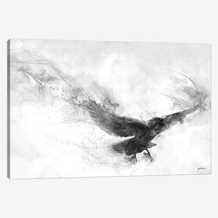 Raven's Flight Canvas Print #GOA58} by Steve Goad Canvas Print