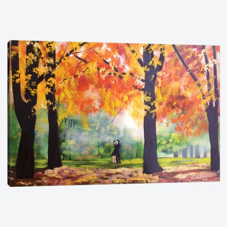 Autumn Canvas Print #GOB14} by Gordon Bruce Canvas Art Print