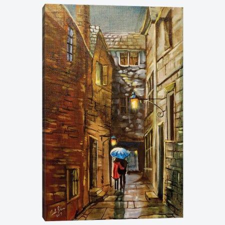 Back Wynd Canvas Print #GOB15} by Gordon Bruce Art Print