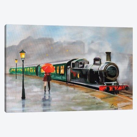 Let It Rain Canvas Print #GOB39} by Gordon Bruce Canvas Art