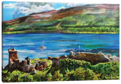 Loch Ness Canvas Art Print