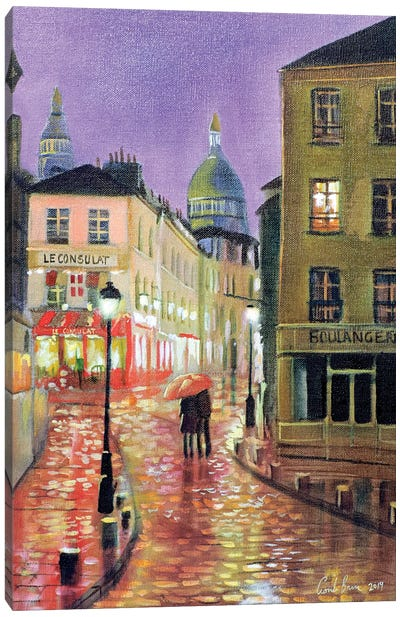 Montmartre Canvas Art Print