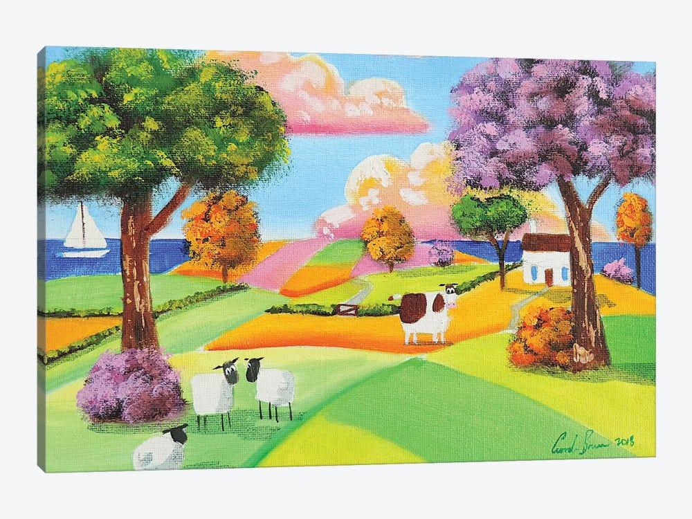 Rolling Hills by Gordon Bruce 1-piece Canvas Art