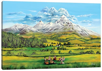 The Sound Of Music Canvas Art Print