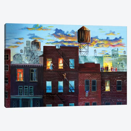 West Side Story Canvas Print #GOB68} by Gordon Bruce Art Print