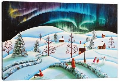 The Northern Lights Canvas Art Print