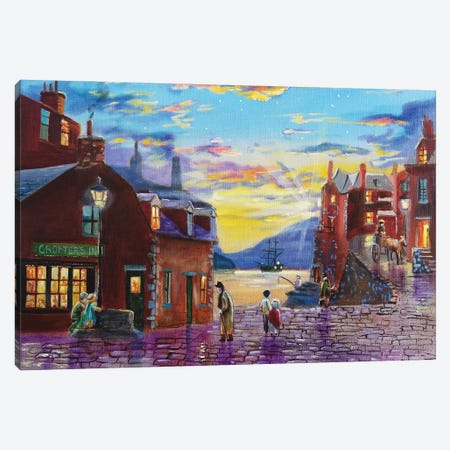 Crofter's Inn Canvas Print #GOB7} by Gordon Bruce Canvas Art