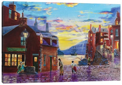 Crofter's Inn Canvas Art Print