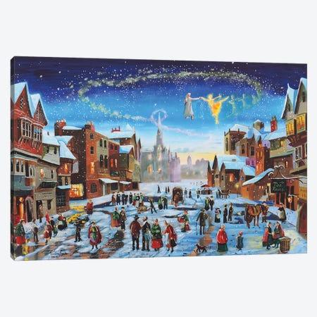 A Christmas Carol Canvas Print #GOB8} by Gordon Bruce Canvas Art Print