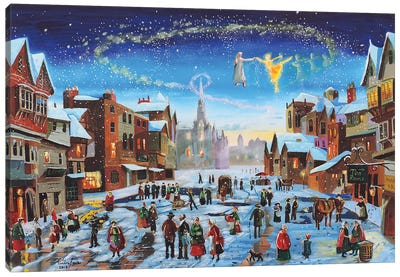 A Christmas Carol Canvas Art Print