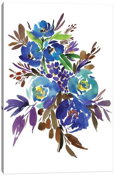 Cerulean Canvas Art Print