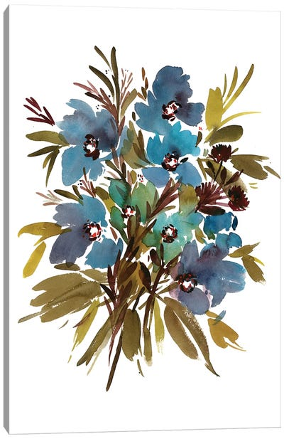 Fiordaliso Canvas Art Print