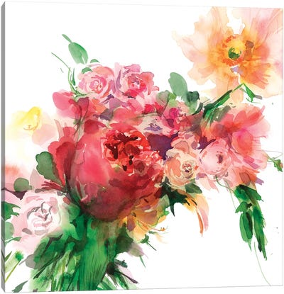 Alizarin Canvas Art Print