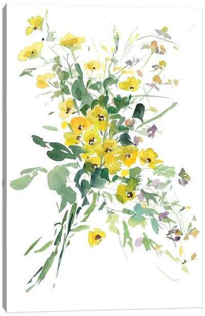 Fiori Gialli I Canvas Art Print