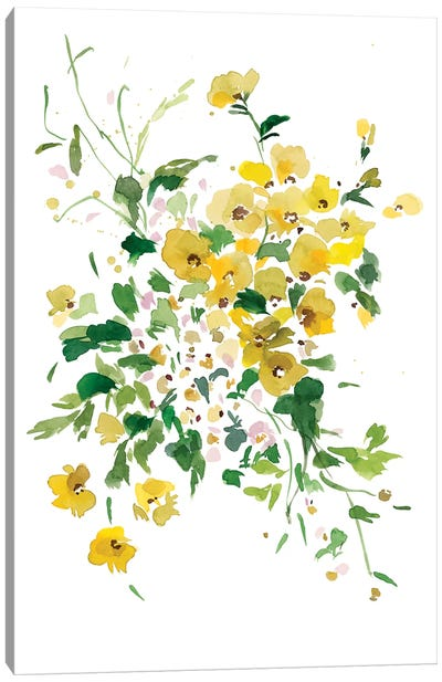 Fiori Gialli II Canvas Art Print