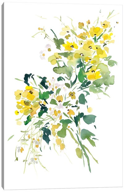 Fiori Gialli III Canvas Art Print