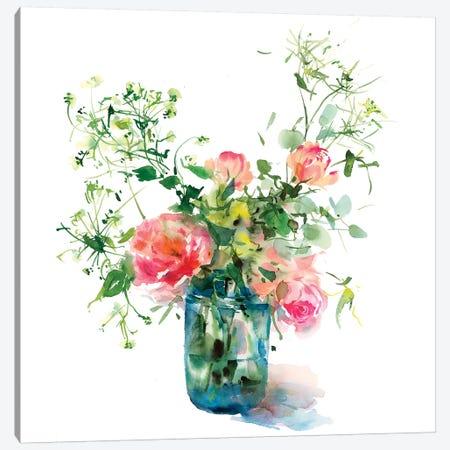 Garden Flowers 3-Piece Canvas #GOG34} by Gosia Gregorczyk Canvas Wall Art
