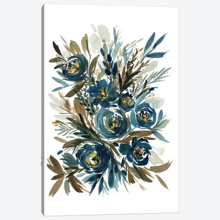 Indigo Canvas Print #GOG38} by Gosia Gregorczyk Canvas Art Print