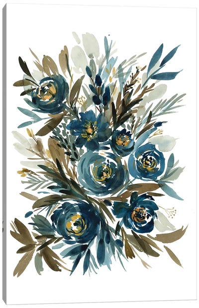 Indigo Canvas Art Print