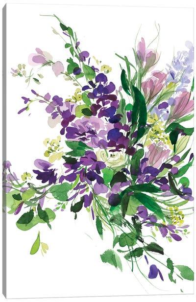 Mauve Canvas Art Print