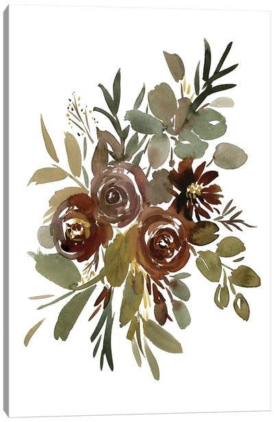 Mint Mocha Canvas Art Print