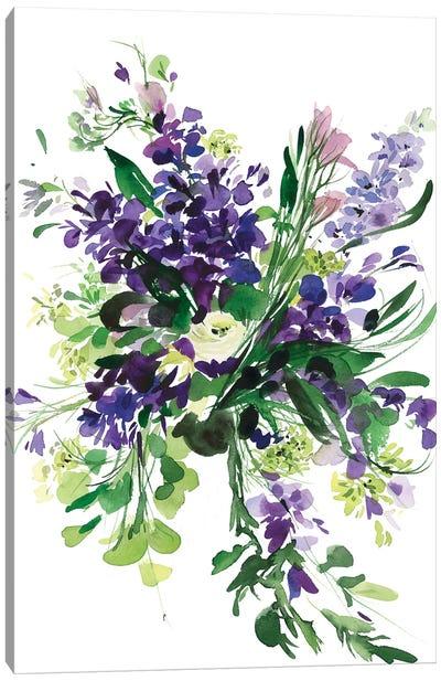 Morado Canvas Art Print