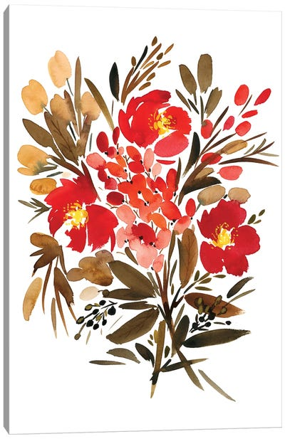 Papaveri Canvas Art Print