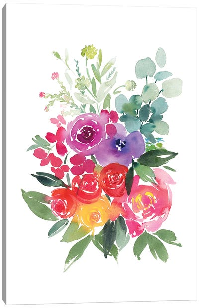 Arcobaleno Canvas Art Print