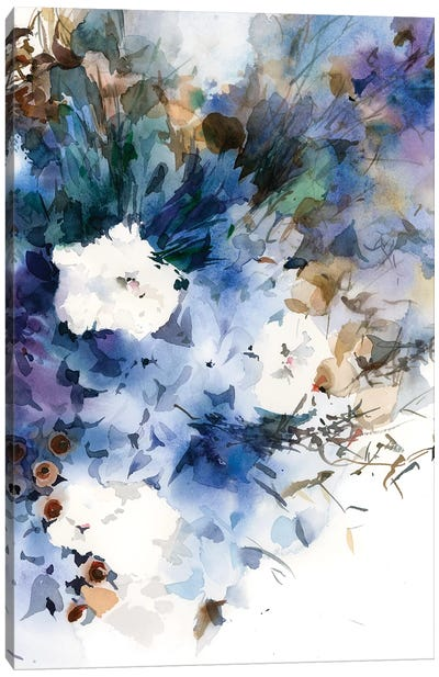 Riflessivo Canvas Art Print