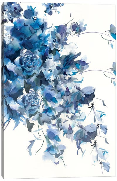 Slate Aegean Canvas Art Print