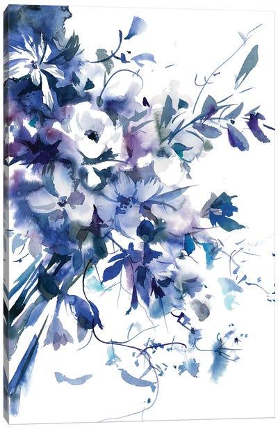 Slate Purple Canvas Art Print