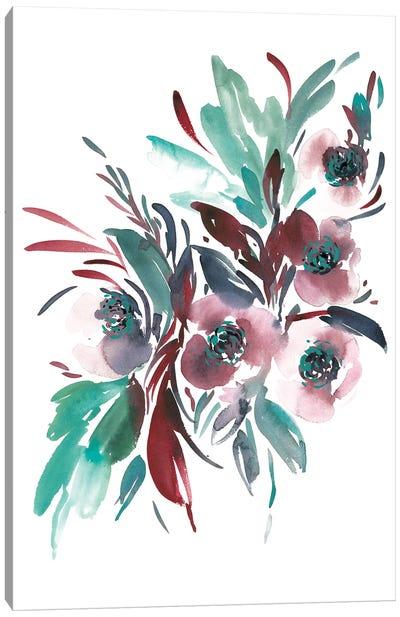 Teal Canvas Art Print